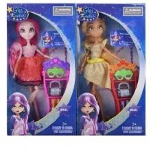 Куклы шарнирные в ассортименте  с аксессуарами (2 вида),  в коробке  KK-090-2