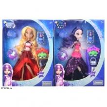 Куклы шарнирные в ассортименте  с аксессуарами  (2 вида), в коробке  KK-093