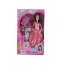 Набор кукла с платьями и  аксессуарами в коробке  KK-1388-12