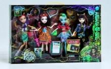 Набор кукол шарнирные, в коробке  KK-2065