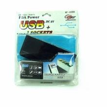 Разветвитель прикуривателя 3 изделия +USB порт PO-1251