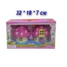 Домик Лесной с куклой и аксессуарами, в коробке  DM-666-800