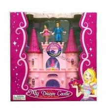 "Замок ""My Dream Castle"" с аксессуарами, на батарейках (свет, звук) в коробке  ZM-2915B"