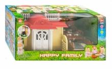 """Конструктор дом """"Happy family"""" (акс.) в коробке  KN-012-04"""