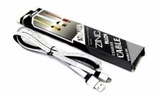 Кабель Micro металлический (в сантиметрах) ATLANFA AT-701V  KB-347