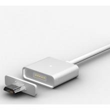 Кабель переходник с USB на микро USB магнитный со съемным штекером  KB-359