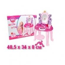 Столик для девочки на батарейках (свет, звук), в коробке  ST-383-026D