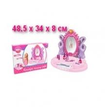 Трюмо для девочки на батарейках (свет, звук), в коробке  TR-383-031D