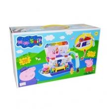 Кораблик-домик для свинок в коробке  KR-8838