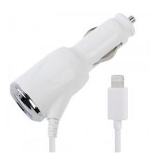 Авто зарядка спираль для Iphone 5+6 AT-5001  ZR-379