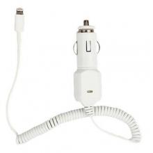 Авто зарядка спираль для Iphone 5+6+USB AT-5002  ZR-380