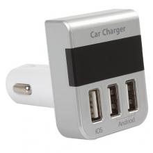 Автомобильное зарядное устройство CAR CHARGER 3100MA  ZR-383