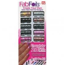 Дизайн ногтей Fab Foils DZ-221