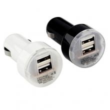Авто зарядка 2 USB, 1A+2,1A (A8)  ZR-385