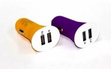 Авто зарядка 2 USB, 2A (A13) (матовый)  ZR-391