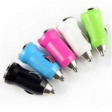 Авто зарядка пуля 1 USB, 1A (A12)  ZR-394