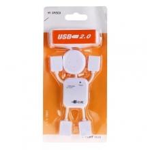 USB HUB JC-21512 - 4 гнезда для USB   SB-408