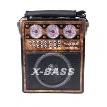Бумбокс+USB+фонарик XB-1052  BM-050