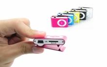 MP3 плеер цветной с прищепкой  MP-451