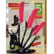 Набор керамических ножей + овощечистка NB-098