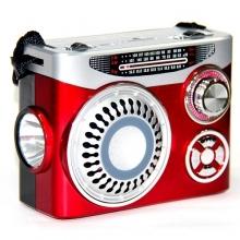 Радиоприемник HAIRUN+USB+аккумулятор+фонарик KR-8314 RD-583