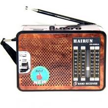 Радиоприемник Hairun с USB фонарик KR-8300 RD-585