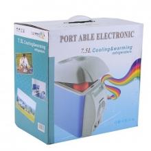 Автомобильный мини холодильник/нагреватель Portable Electronic Cooling and warming refrigerator  7,5L
