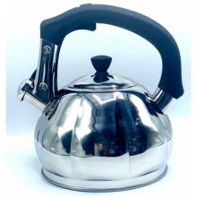Чайник со свистком из нержавеющей стали, объем 3.0л, MGFR MR-6001
