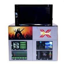 автомагнитола c ценсорным экраном+DVD+GPS+BLUETOOTH+USB+радио