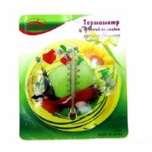 Термометр оконный на стекло Spring Flowers TE-2916