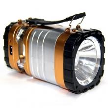 Фонарик+3 режима+аккумулятор+солнечная зарядка YD-3587 FN-672