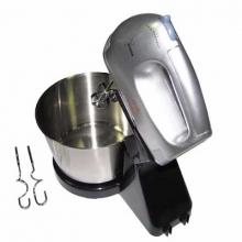 Миксер+тестомешалка с чашкой, с 7-и режимами, мощность 120w, 504