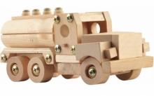 Машина-конструктор из дерева KN-0664