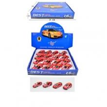 Машинки пожарные металл инерционная в дисплее  MS-6633-46-4