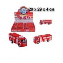 Машинки пожарные металл. в дисплее MS-9118-012