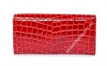 Кошелёк 9281_094 натуральная-кожа-крокодила-с-тиснением