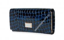Кошелёк 9281_095-лаковая-кожа-крокодила-с-тиснением