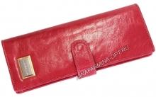 Визитница из Масленой кожи 9284J_Plum_Red