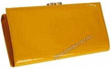 Кошелёк 9287_Yellow Лакированная кожа