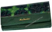 Кошелёк 9299K_Green Лакированная кожа