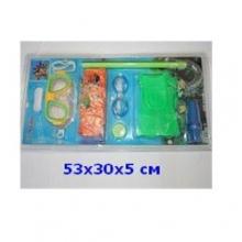 """Набор детский для плаванья """"SWIM"""" (4 цв., 8 предметов), на блистере  NB-0720"""