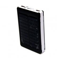 зарядка портативная Power Bank AT-D2019 18000 mAh, солнечная батарея+фонарик
