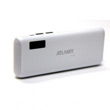 зарядка портативная Power Bank AT-D2033+2USB+фонарик+индикатор 12000 mAh