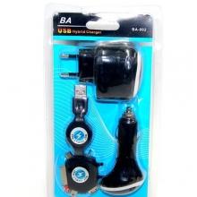 универсальная зарядка+прикуриватель BA-002