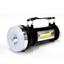фонарик+3 режима+аккумулятор+солнечная зарядка BF-1668L