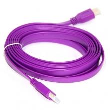 кабель плоский HDMI (5м)