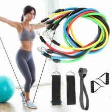 Фитнес упражнения резистивные полосы Crossfit