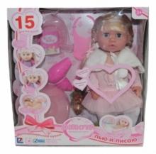 Кукла функциональная Анюта (пьет, писает, звук) R66005-26D