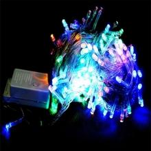 гирлянда прозрачная (светодиодная) 300 лампа