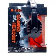 Наушники для компьютера+микрофон-игровые M-1130